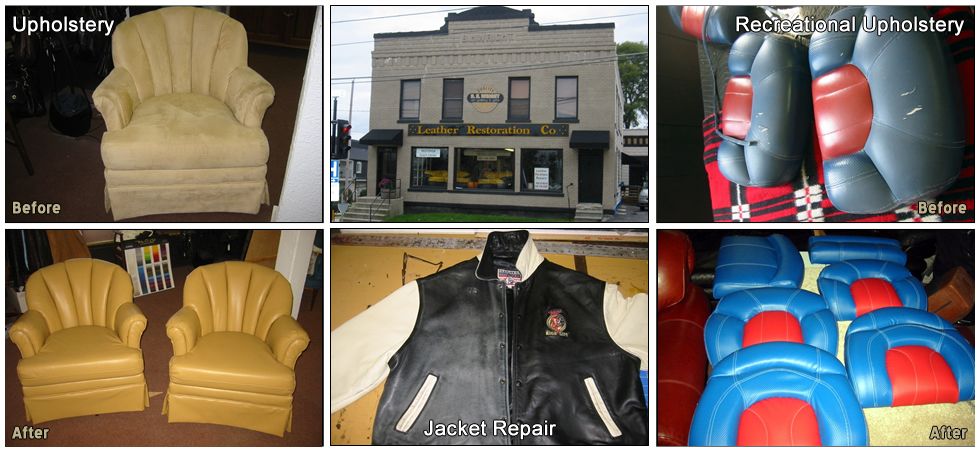 leather restoration and furniture